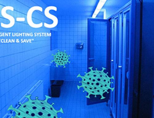 Utilização de método UV para esterilização de escritórios.